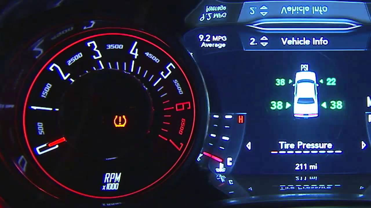 2015 Dodge Challenger Tire Pressure Monitoring System