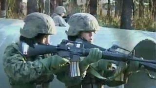 Marines add first female ground infantry