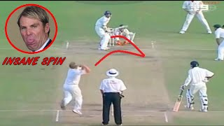 Top 10 Insane Spin Balls in Cricket History ►MUST WATCH◄