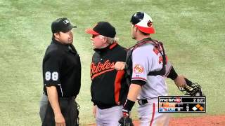 2012/05/29 Wieters gets tossed