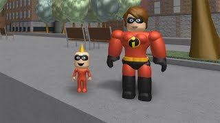 ROBLOX: MY MOTHER AND I TURN THE INCREDIBLES 2!!!