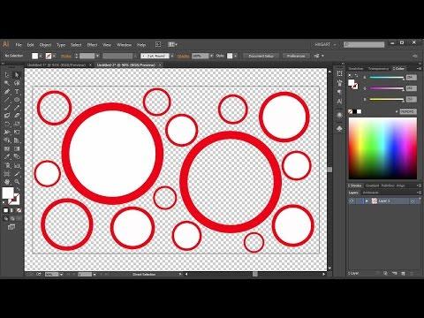 Transparent Background in Adobe Illustrator