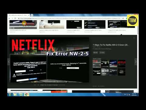 How to fix Netflix code NW-2-5?