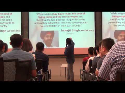 Christian Chua - Recruitment talk / Insurance / Real estate