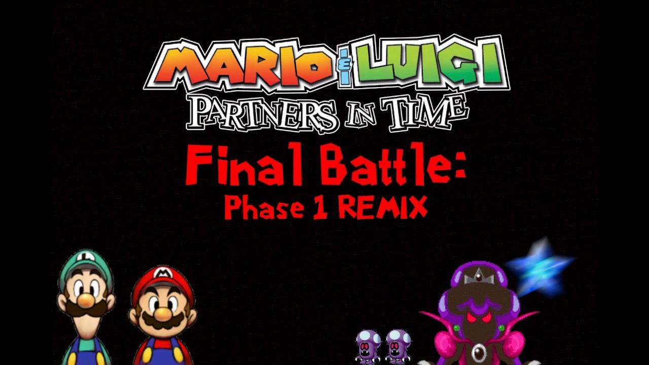 Princess Shroob Battle Mario Luigi Partners In Time Remix