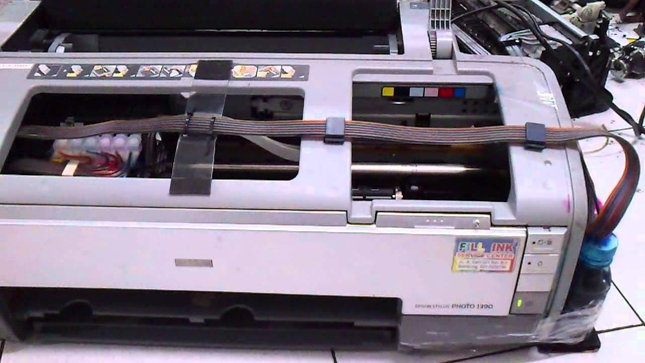 Printer Epson 1390 Blinking Fatal Error 1 Solve Youtube