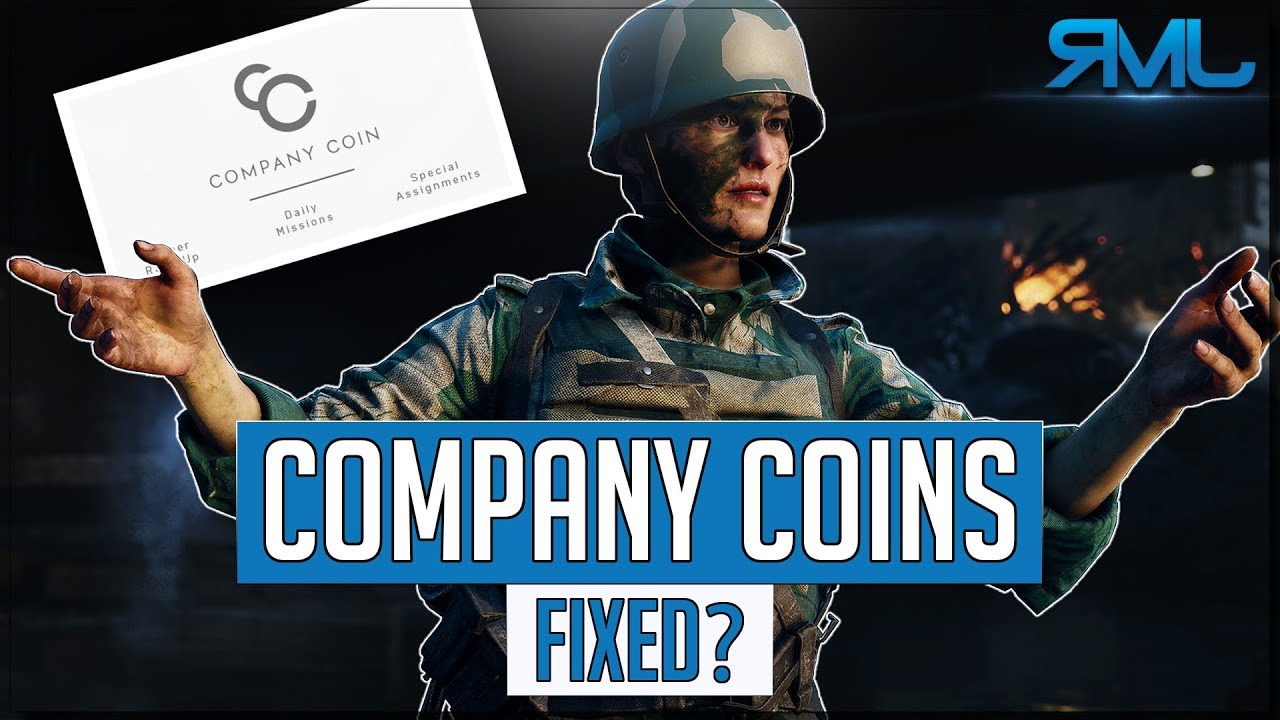 Company Coins Issue Fixed? - Battlefield 5 Company Coin Bug - Battlefield V  News