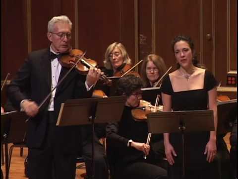 Mozart 'L'amero saro costante' from il re pastore, K. 208