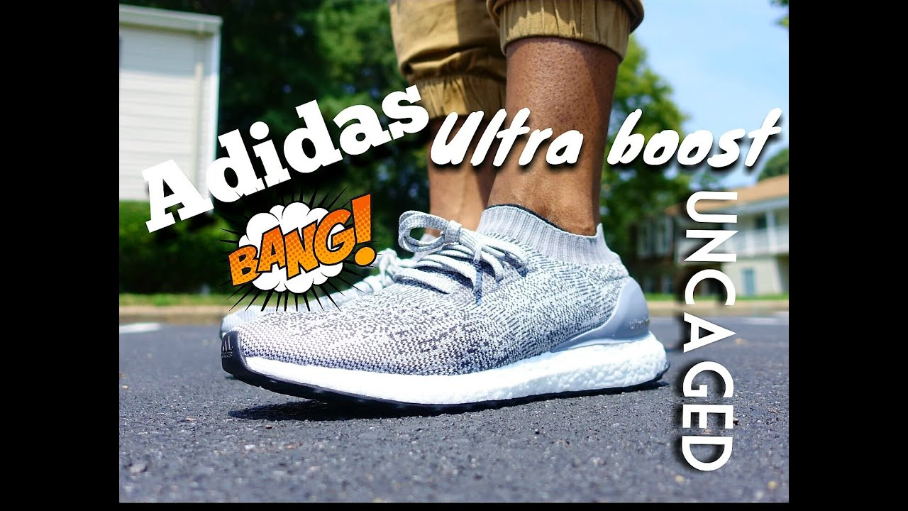 Adidas ultra Boost uncaged a pie Review YouTube