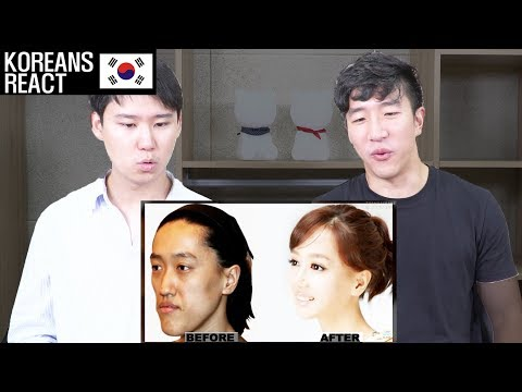 Korean Plastic Surgery Before and After Reaction by Koreans