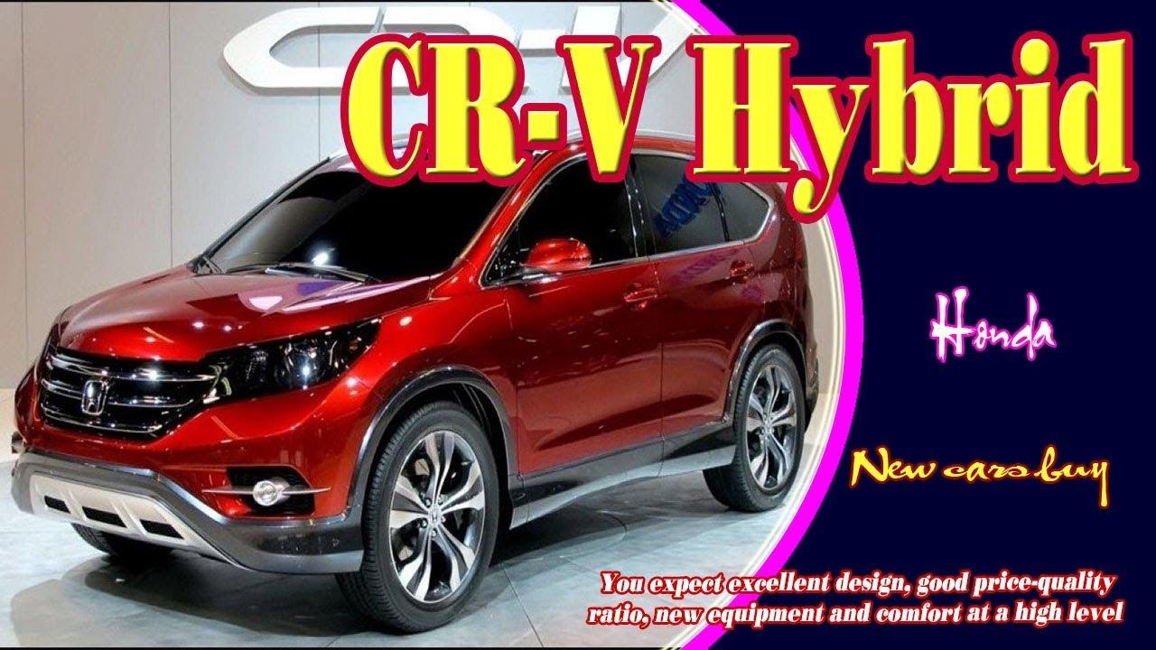 Newcars 2019hondacrvhybrid Hondacrvhybrid