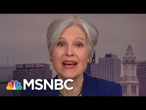 Jill Stein Reacts To Mueller Indictment Showing Russia Supported Her | MSNBC