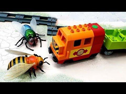 Видео с игрушками - Вторжение пауков! Игрушечные мультфильмы на русском языке 2020 года.