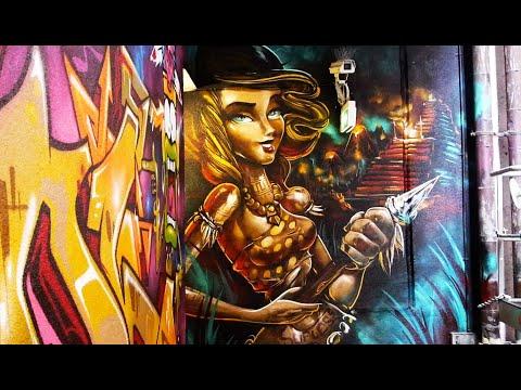 Sofles Graffiti Characters Are Insane! 2018