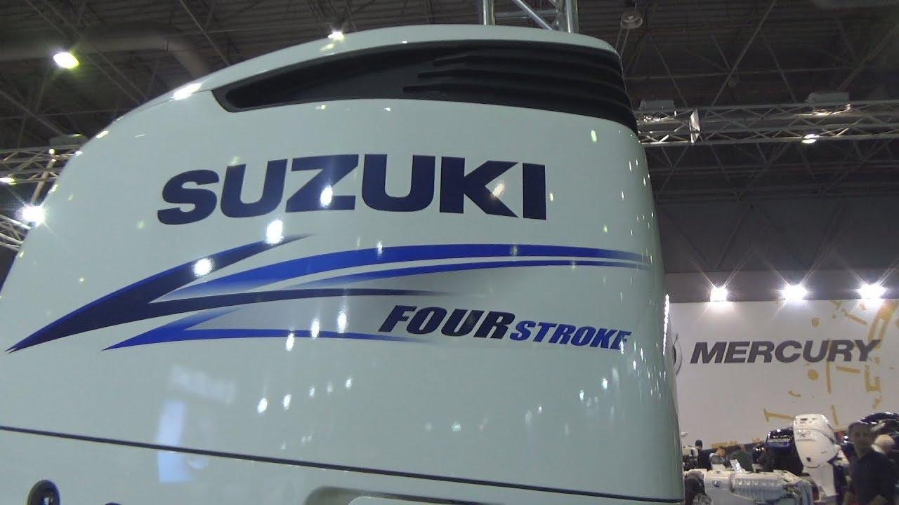 Suzuki Marine DF300AP Outboard Motor (2019) Exterior and Interior