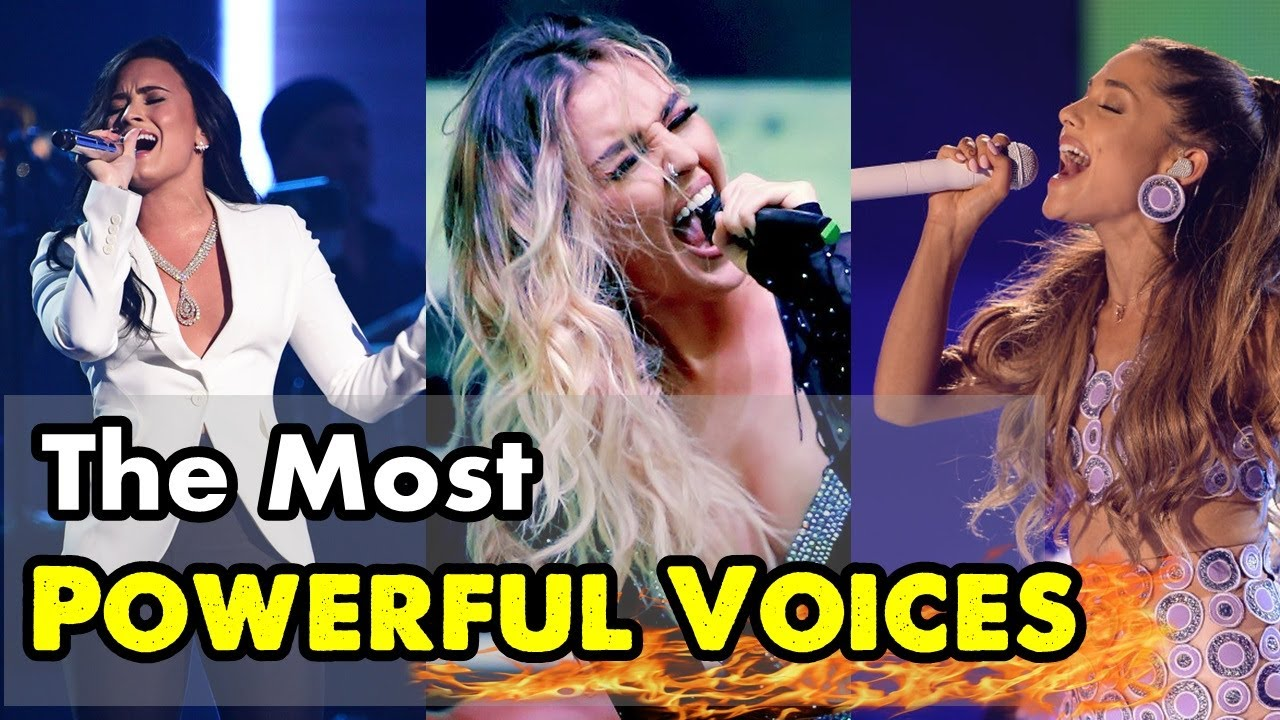 FEMALE SINGERS BEST HIGH NOTES