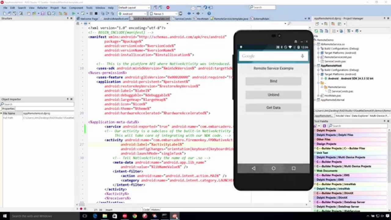 More on Android Services with Delphi 10 Seattle   The