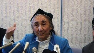 Exiled leader Kadeer: Uighurs