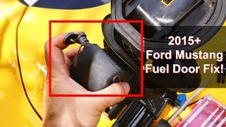 How To Fix Broken/Flappy Ford Mustang Gas Cap Door (May work for other Ford models!)