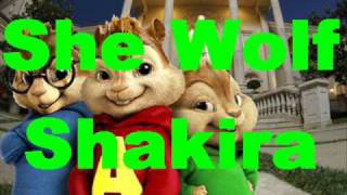 Shakira - She Wolf lyrics - starmunks version