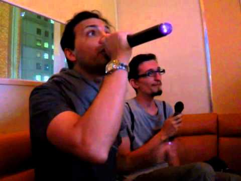 Good old fashioned karaoke