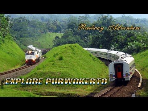 [HD] Jelajah Kereta Api di Purwokerto – Explore Railway in Purwokerto
