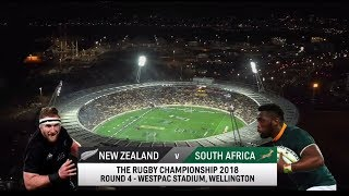 Rugby Championship | New Zealand vs South Africa | Highlights