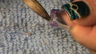 Aquarium Nail How To Apply Them Step by Step