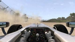 F1 2011 High Speed Engine Failure Melbourne