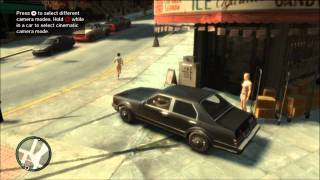 GTA IV Gameplay/Commentary [Part 1] - Destroy All Humans!