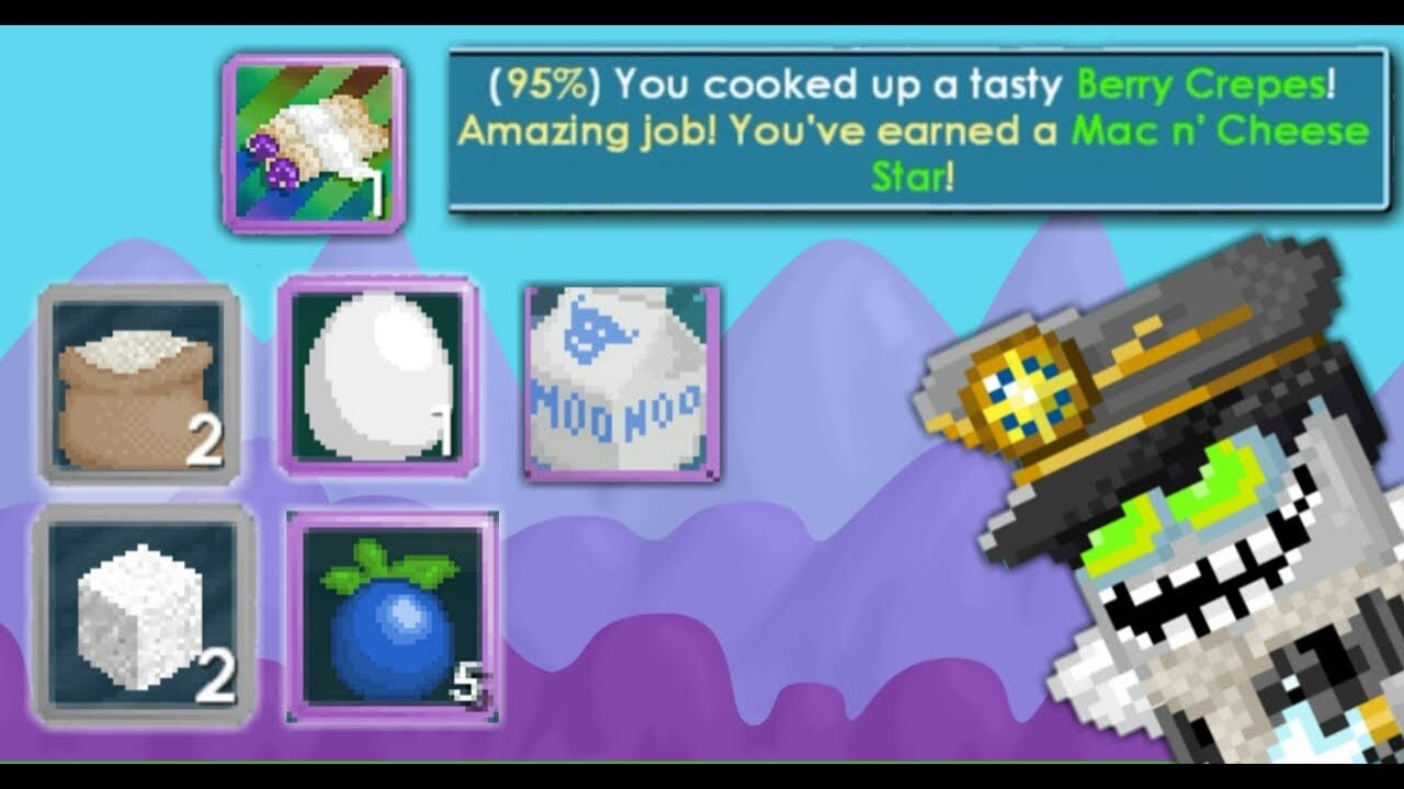 Growtopia Cooking How To Cook Berry Crepes Cara Masak Buat Pemula By Iklan Gt