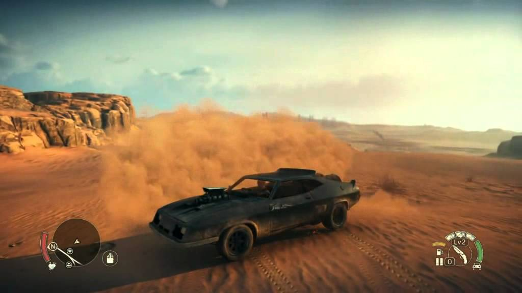 Mad Max PS4 The Interceptor Gameplay