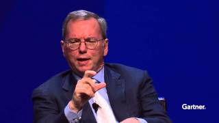 Eric Schmidt, Executive Chariman Google at Gartner Symposium/ITxpo 2013 in Orlando