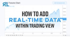 How to add Real-time Data within TradingView