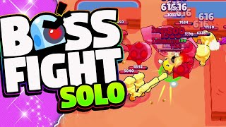 The HARDEST Thing in Brawl Stars | Lex and Kairos | Beating Boss Fight By Yourself