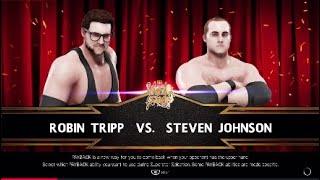 BCW Grand Stage Stevie J vs Robin Tripp WWE2K19