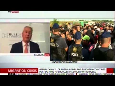 Sky News: Thorbjørn Jagland discusses Europe's migration crisis
