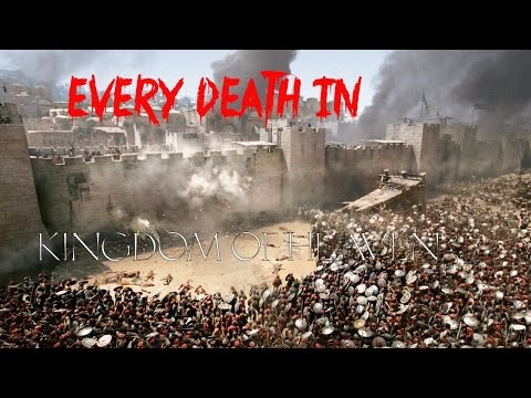 EVERY DEATH IN #52 Kingdom of Heaven (2005)