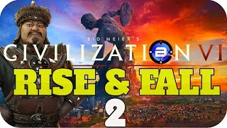 Video MAD RACE TO PROPHET! ▶Civilization 6 RISE & FALL: GHENGIS KHAN of MONGOLIA◀ EP2 Civ VI Rise and Fall download MP3, 3GP, MP4, WEBM, AVI, FLV April 2018