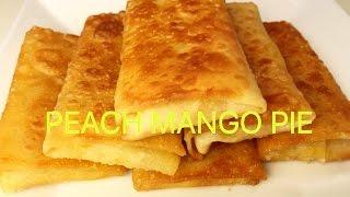 How to Make Peach Mango Pie