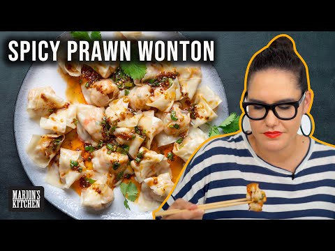 The SPICY WONTON recipe I can't get enough of 🥟🥟🥟 | Marion's Kitchen