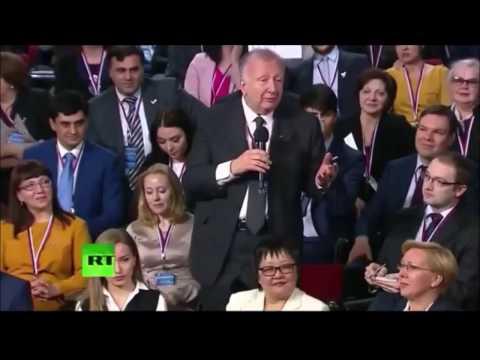 Willy Wimmer und Wladimir Putin gemeinsam zum Patriotismus - und WW bei den SeeGesprächen