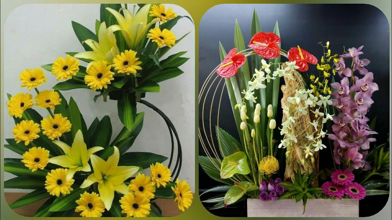 Singapore Flower Decoration Stylish Flower Arrangements ...
