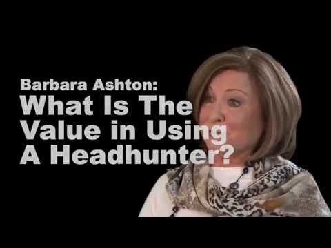 The Value In Using A Headhunter