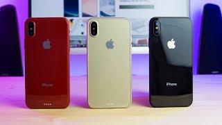 VOICI LE NOUVEL IPHONE X D'APPLE ! (Rouge, Or, Noir)