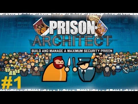 Prison Architect №1 - Тюремные баталии