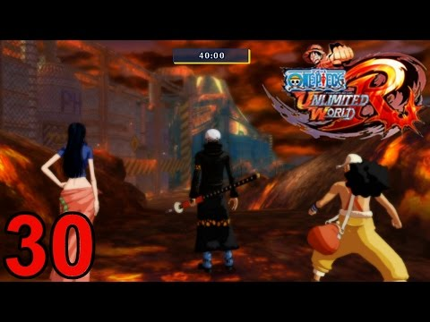 Let's Play One Piece Unlimited World Red [German][Blind][#30] Boss-Quests!