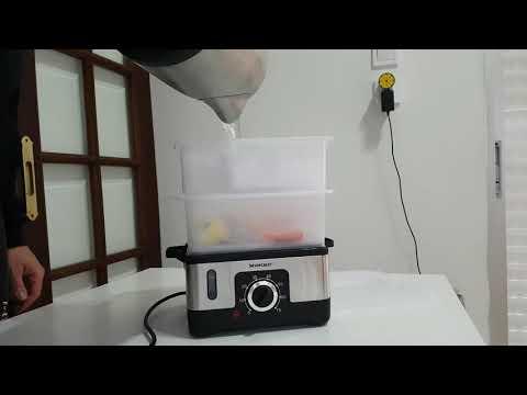 silvercrest-kitchen-tools-steamer-testing