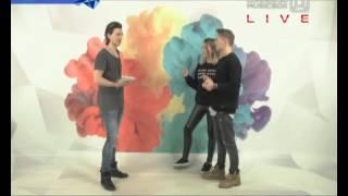 Ваня Чебанов и Лууна в эфире Russian Music Box