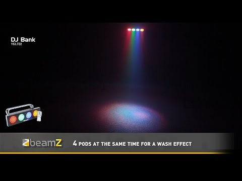 BeamZ DJ Bank 140 RGBA LEDs 153.722